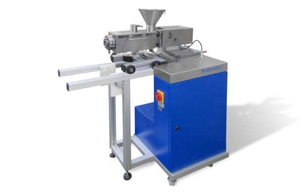 Conical twin screw extruder (CTSE)