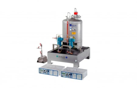 Sistema de odorización con cubeto