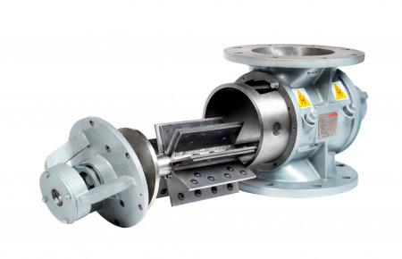 Válvula rotativa especialmente robusta EHD
