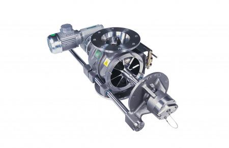 Válvula rotativa de limpieza rápida FCT