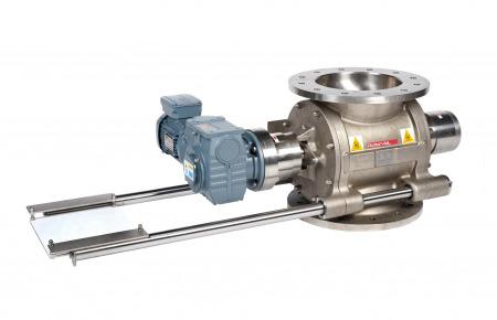 Válvula rotativa robusta de limpieza rápida HDMF