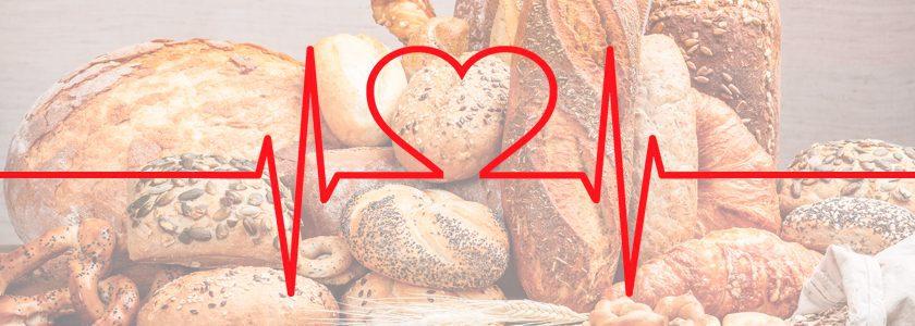 El pan de cereales es bueno para el corazón