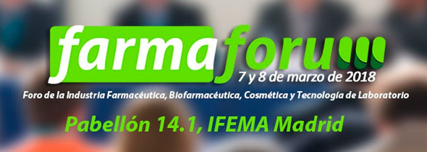 Comienza la cuenta atrás para Farmaforum 2018
