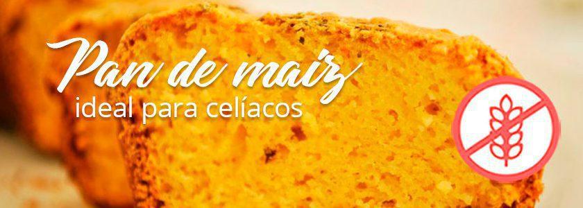 Pan de maíz, ideal para los celiacos
