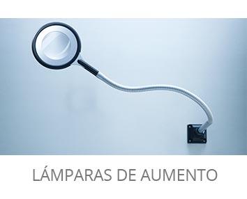 Lámparas de aumento