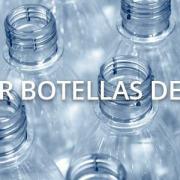 ¿Se pueden reutilizar las botellas de plástico?