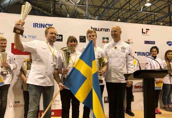 Suecia se alzó con el triunfo en el 47 campeonato de jóvenes panaderos