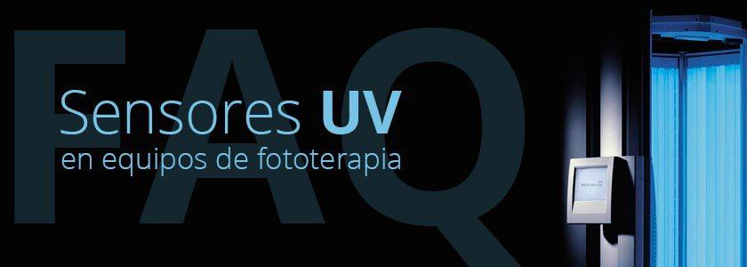 FAQ: Sensores UV incorporados en los equipos de fototerapia