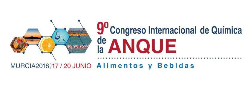"""9º Congreso Internacional de Química de la ANQUE """"Alimentos y Bebidas"""""""