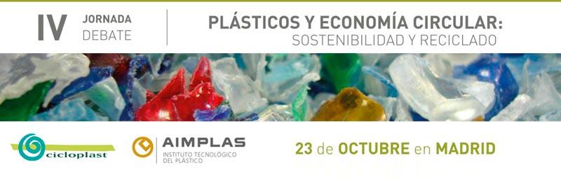 IV Jornada Debate: Plásticos y Economía Circular (AIMPLAS)