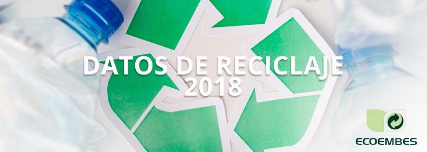 La aportación ciudadana al reciclaje aumenta un 12% en 2018