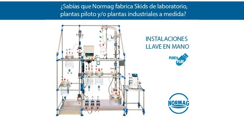"Expediente NORMAG: Skids de laboratorio y producción ""made in germany"""