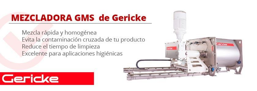 REVIEW: Mezcladora GMS de Gericke