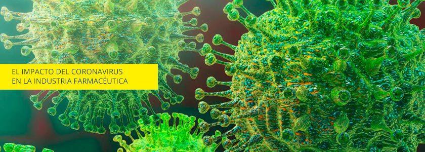 ¿Cómo puede impactar el coronavirus en la industria farmacéutica?