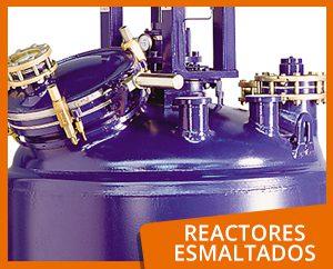 Reactores esmaltados