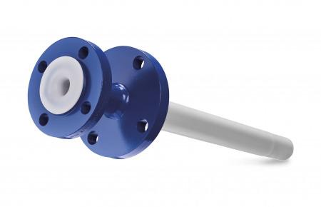 Accesorios en fluoropolímeros para equipos esmaltados