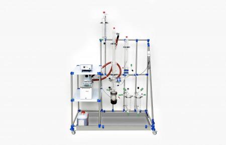 evaporador de película descendente con unidad de condensación
