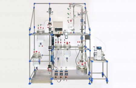 extracción líquido-líquido continua